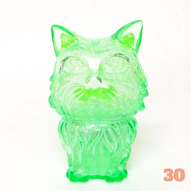 MANY EYES CAT(グリーンラメ)