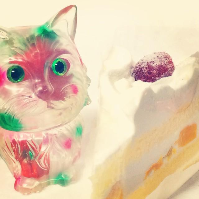 リフレッシュメント ネコ ソフビ ケーキ