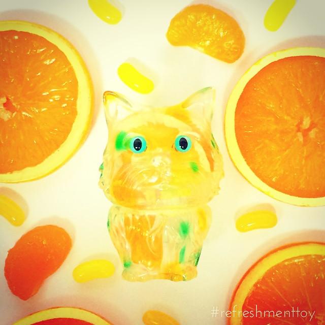 refreshmenttoy cat 2014 ソフビ