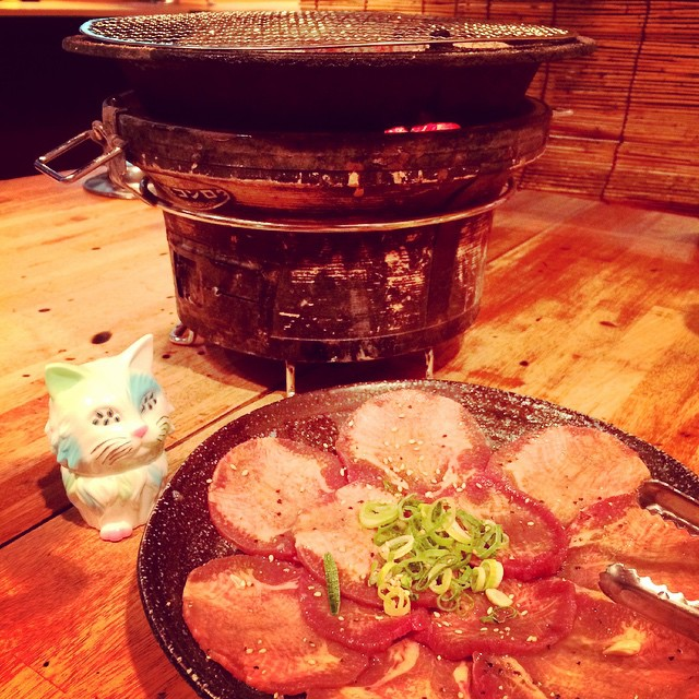 大阪に戻ってきて夕飯dinner