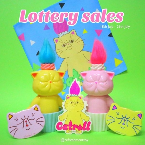refreshment toy lottery sales catroll