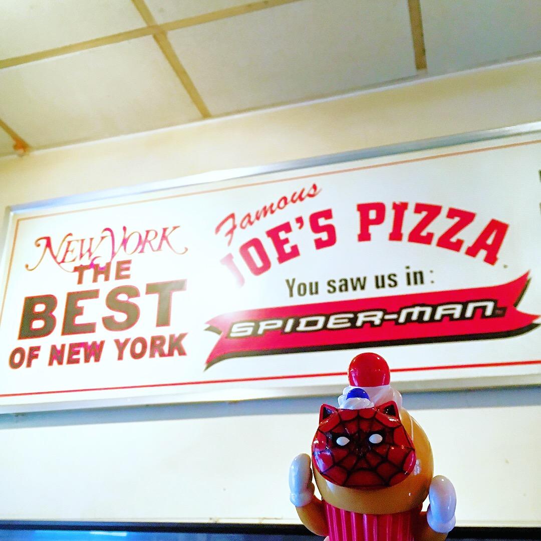 スパイダーマン_ピザ屋_NEWYORK