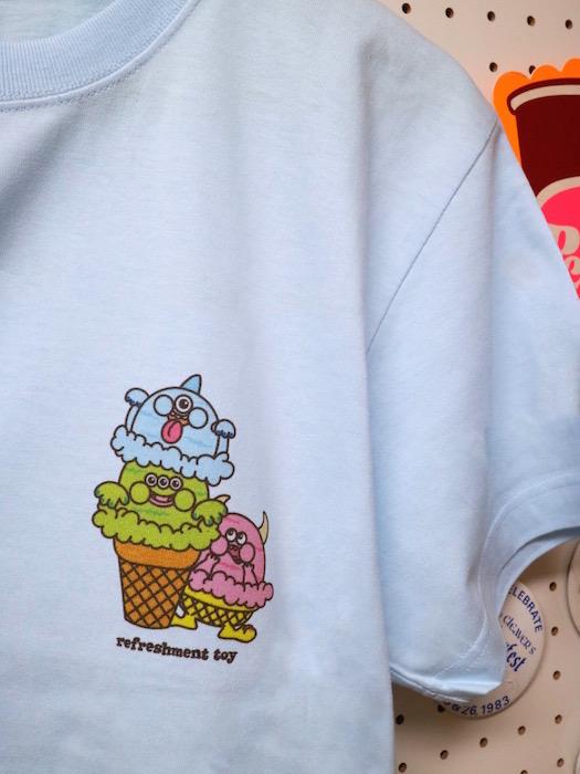 大阪トイショップ_アイスクリームモンスターTシャツ