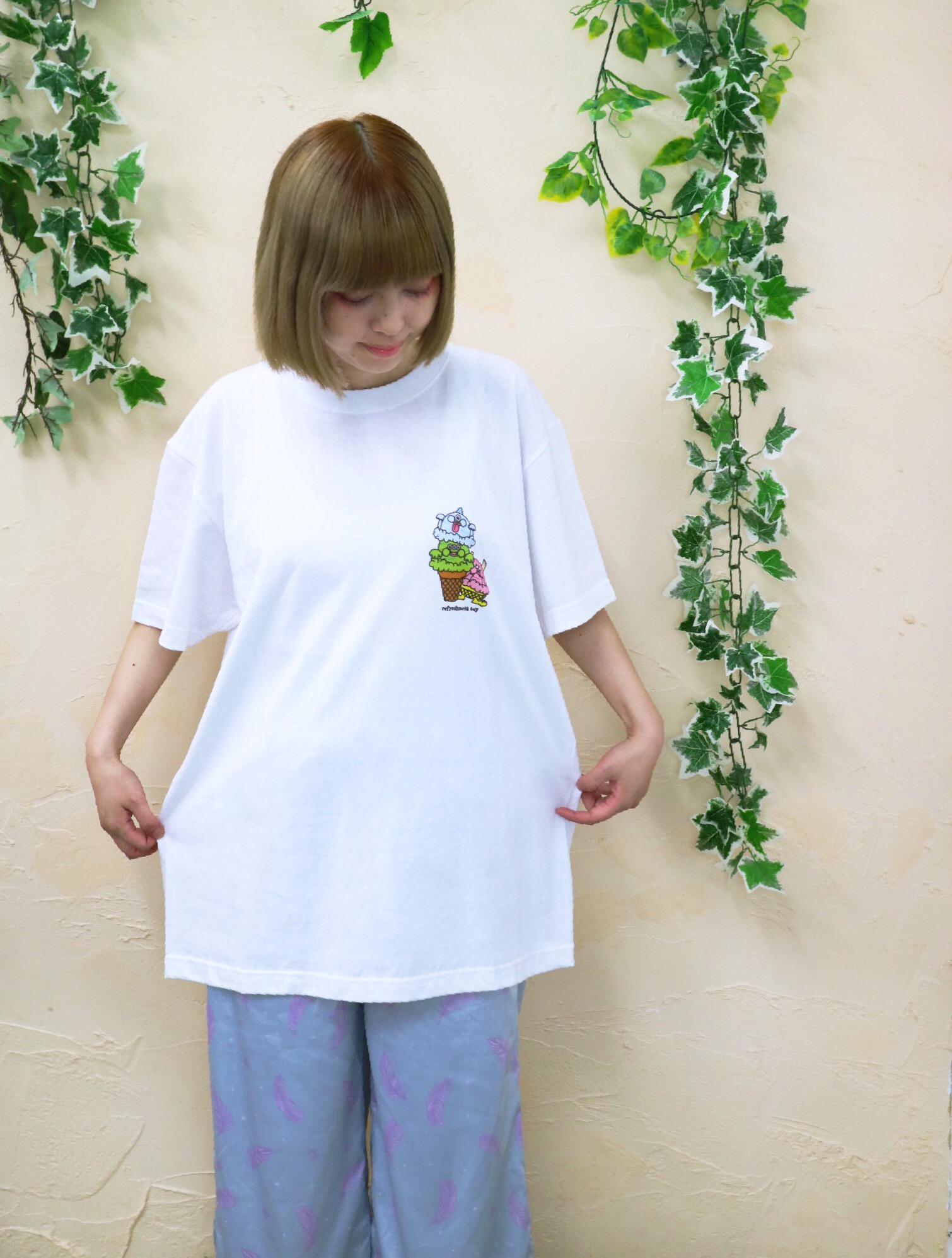 アイスクリームモンスター_オリジナル_Tシャツ