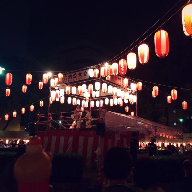 盆踊り 大阪