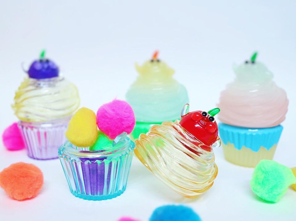 カップケーキのソフビ