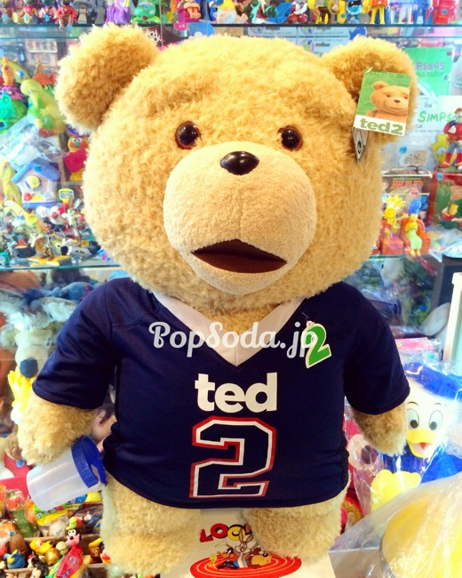 アメリカ直輸入TED2等身大のトーキングフィギュア