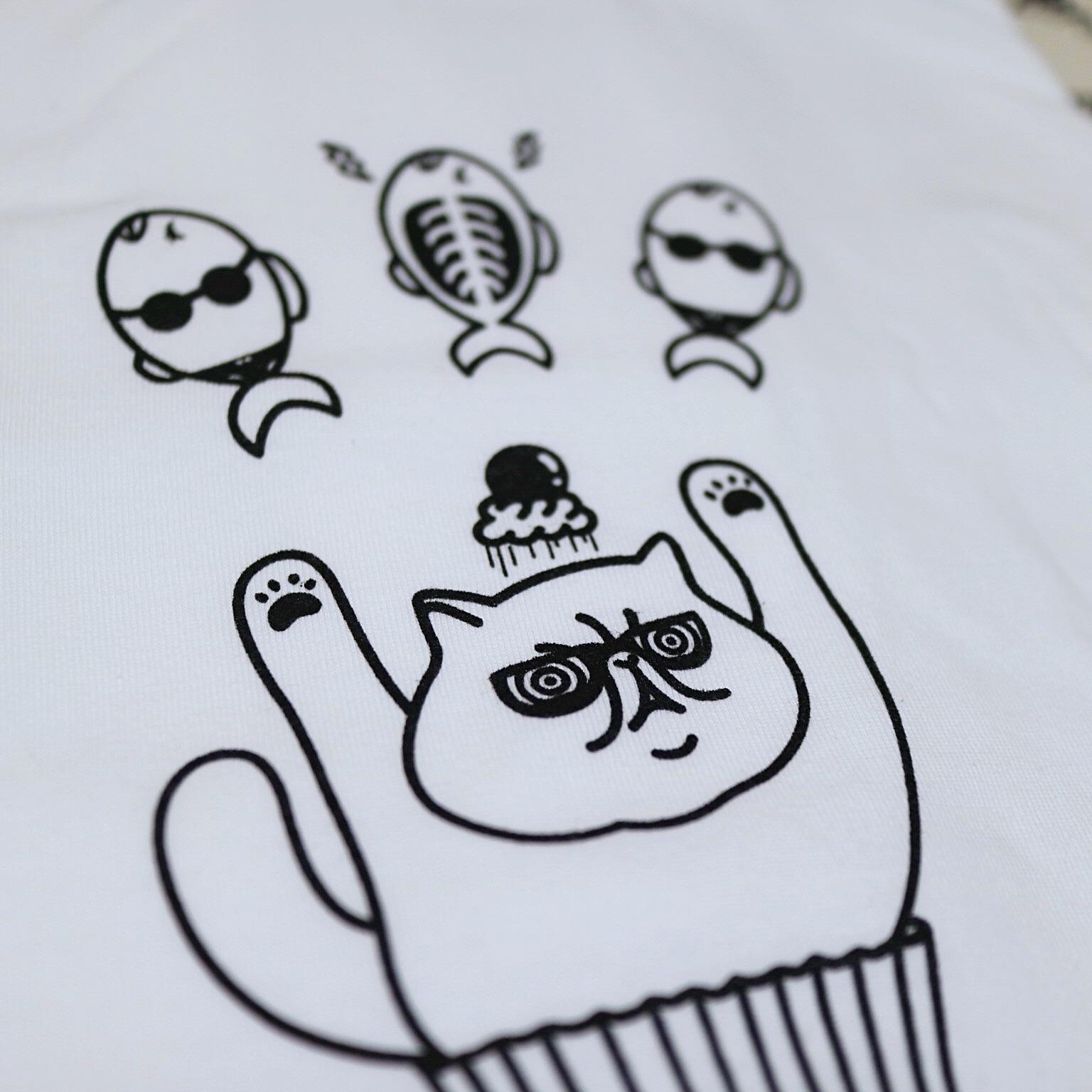 xray_gogs_ねこTシャツ