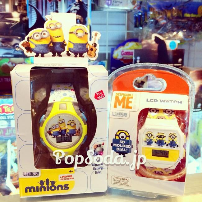 ミニオン腕時計