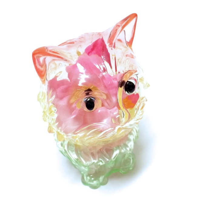 refreshment toy vinyl toys cat