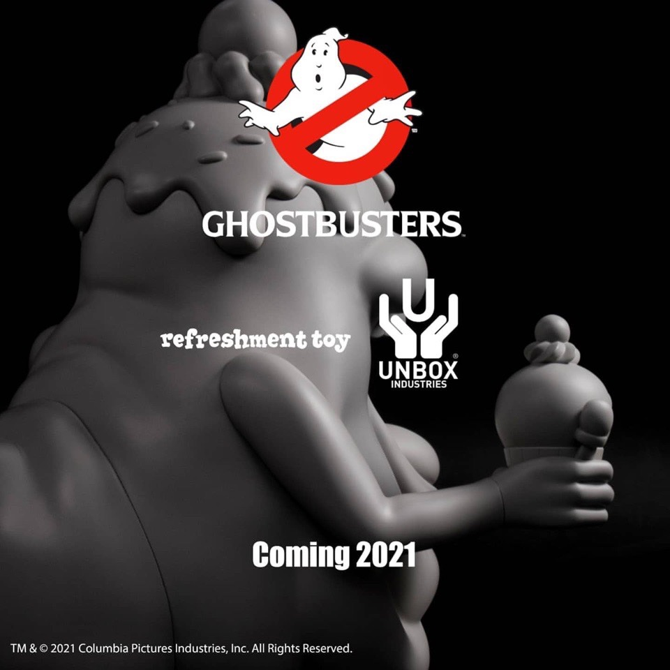 ghost busters slimer vinyltoy