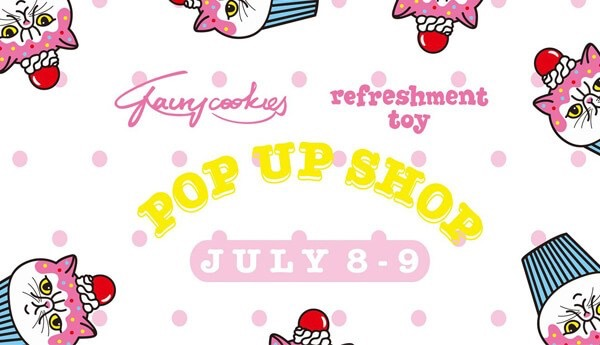 refreshment toy pop up shop